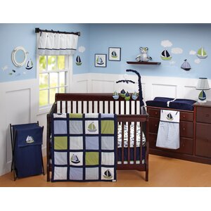 Zachary 6-Piece Crib Bedding Set