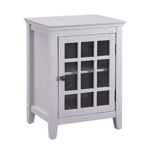 Tuftonboro 1 Door Accent Cabinet by Breakwater Bay