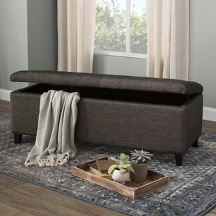 Alcott Hill Holoman Upholstered Storage Bench