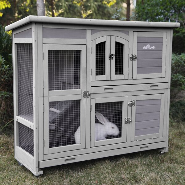 Tucker Murphy Pet Two Storey Rabbit Hutch Bunny Cage With