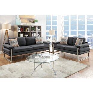Kraker 2 Piece Living Room Set by Orren Ellis