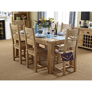 Review Frahm Extendable Dining Set With 6 Chairs