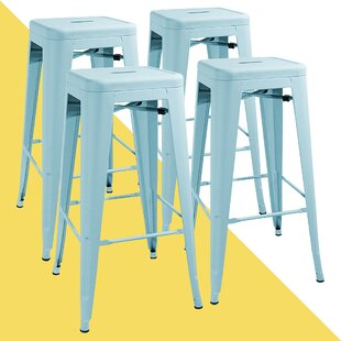 Davisson 30'' Bar Stools (Set of 4) by Hashtag Home