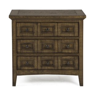 Find for Amazonia 3 Drawer Nightstand by Greyleigh