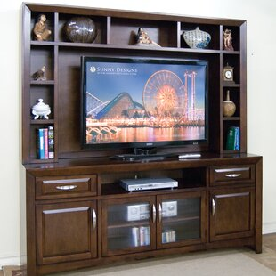 Cappuccino Entertainment Center for TVs up to 78