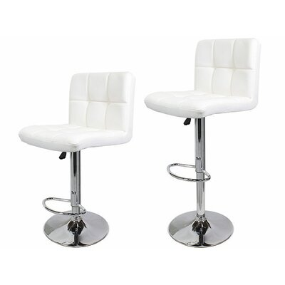Adjustable Height White Bar Stools You Ll Love In 2019