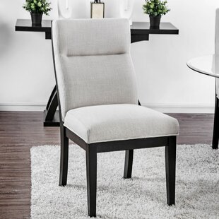 Lera Upholstered Dining Chair (Set of 2) Brayden Studio