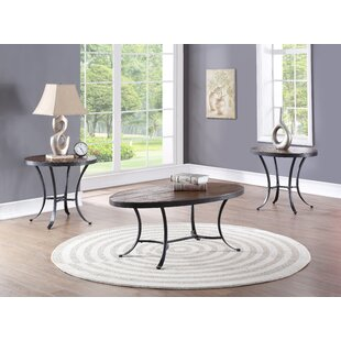 Wooding 3 Piece Coffee Table Set