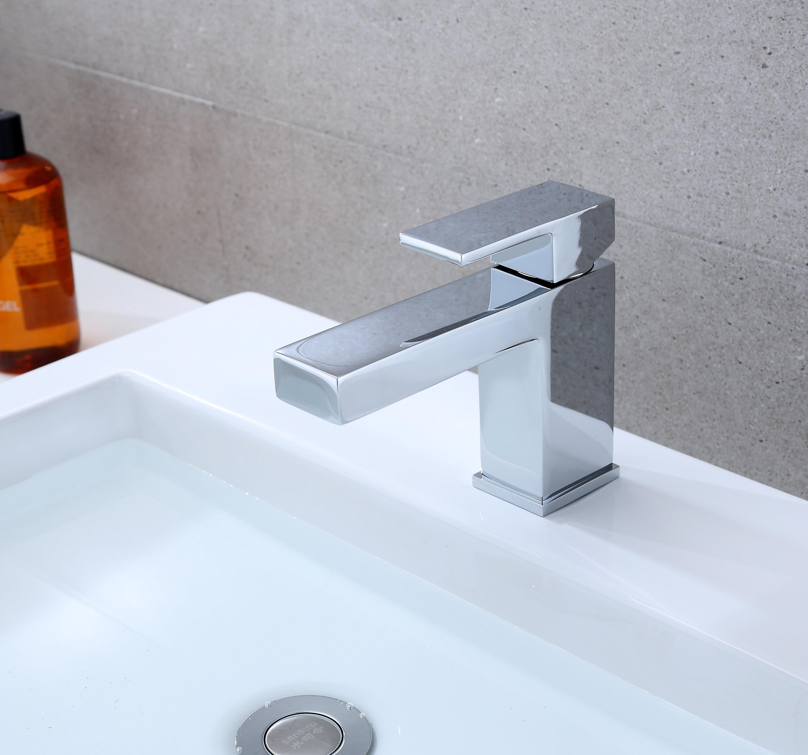 Rift Single Hole Bathroom Faucet