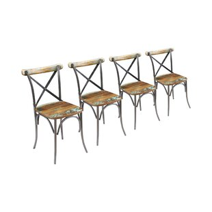 Milly Solid Wood Dining Chair (Set Of 4) By Williston Forge
