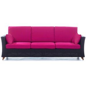 Rattan Deep Seating Sofa With Cushions