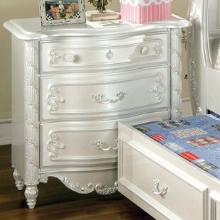 Price comparison Victoria 3 Drawer Nightstand by Hokku Designs Reviews (2019) & Buyer's Guide