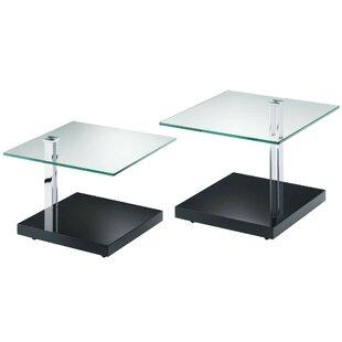 Bancroft 2 Piece Coffee Table Set (Set Of 2) By Wade Logan