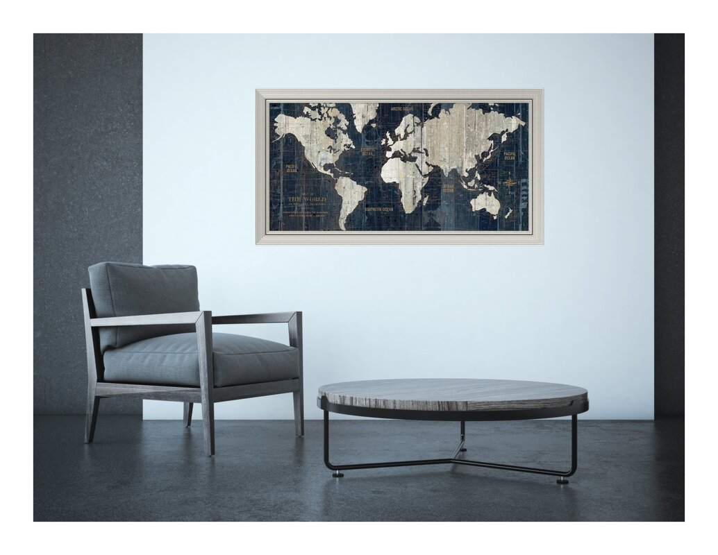 Old world map framed graphic art reviews joss main old world map framed graphic art gumiabroncs Image collections