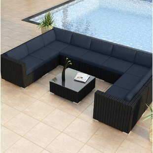 Azariah 10 Piece Surround Sectional Set with Cushions