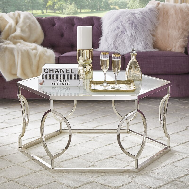 Beautiful Olander Round Coffee Table