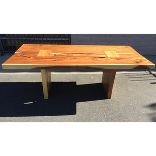 Braaten Double Slab Solid Wood Dining Table Foundry Select