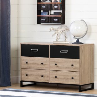 Induzy 6-Drawer Double Dresser
