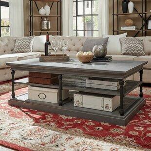 Gray Wash Coffee Table | Wayfair