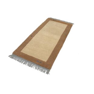 Gamelin Hand Hooked Beige Indoor/Outdoor Rug By Bloomsbury Market