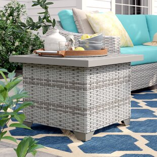 Falmouth Side Table by Sol 72 Outdoor Top Reviews