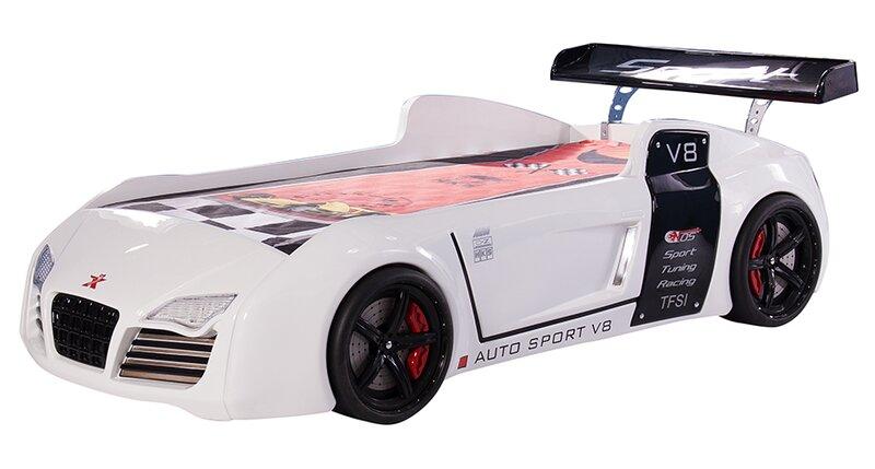 Sia Modern Design Turbo Auto Sport V8 Race Car Bed Wayfair