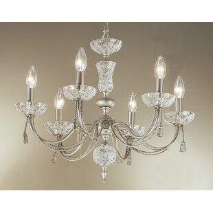 Classic Lighting Weatherford Rope 6-Light Chandelier