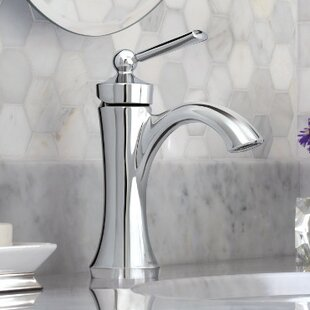 Wynford Single Hole Bathroom Faucet with Drain Assembly by Moen