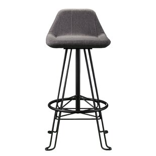 Fantastic Wade Logan Catina Modern Adjustable Height Swivel Bar Stool Gmtry Best Dining Table And Chair Ideas Images Gmtryco