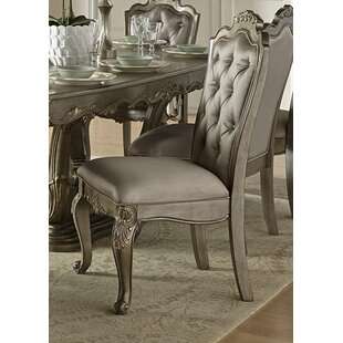 Flack Upholstered Dining Chair (Set of 2)..
