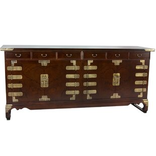 Korean Double Cabinet Sideboard Oriental Furniture