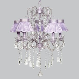 Whimsical chandelier light wayfair save to idea board mozeypictures Images