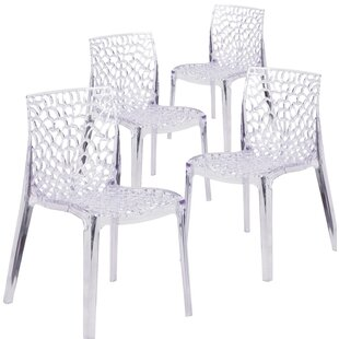 Budget Armless Vision Series Transparent Stacking Chair (Set of 4) by Flash Furniture Reviews (2019) & Buyer's Guide