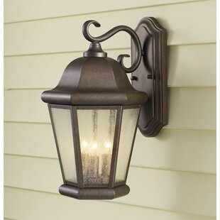 Darby Home Co Hereford 3-Light Outdoor Wall Lantern
