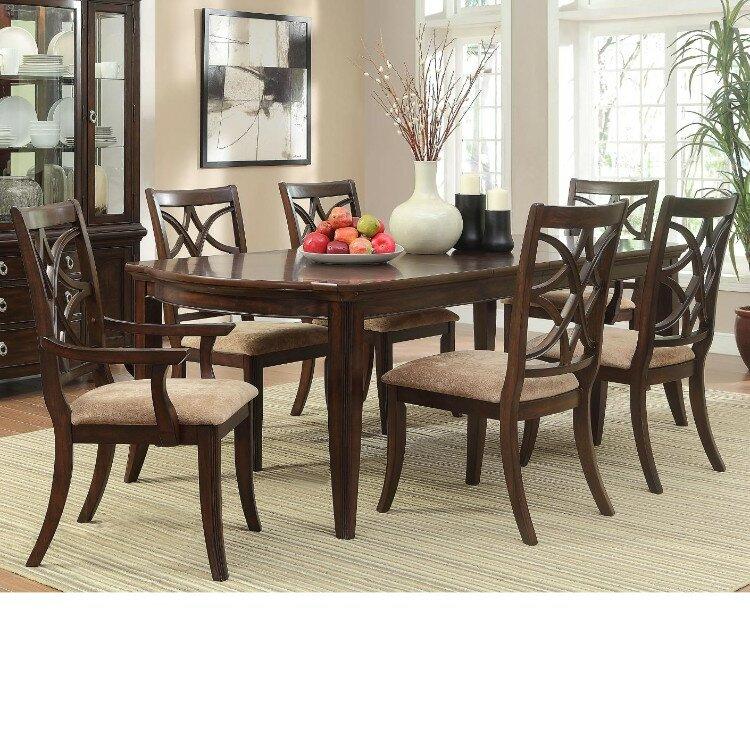 Canora Grey Clairsville 7 Piece Dining Table Set Wayfair