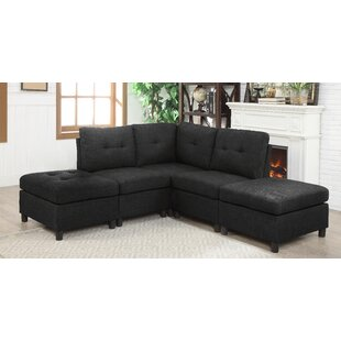 Ebern Designs Wetherby Modular Sectional
