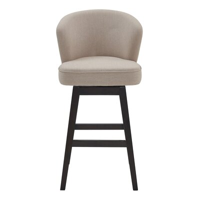 Admirable Brayden Studio Khan 305 Swivel Bar Stool Upholstery Tan Gmtry Best Dining Table And Chair Ideas Images Gmtryco