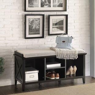 Homestyle Collection Callie Wood Storage Bench