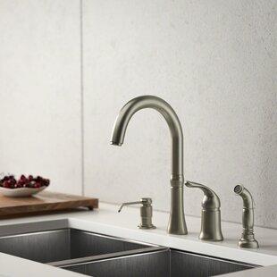 Delta 4 Hole Kitchen Faucet Wayfair