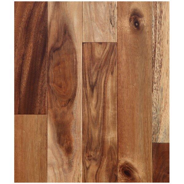 """Easoon Usa 5 Engineered Manchurian Walnut Hardwood: Easoon USA 4-3/4"""" Engineered Acacia Hardwood Flooring In"""