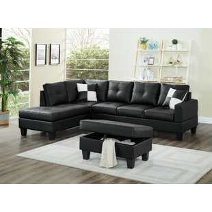 Winston Porter Redrick Sectional with Ott..