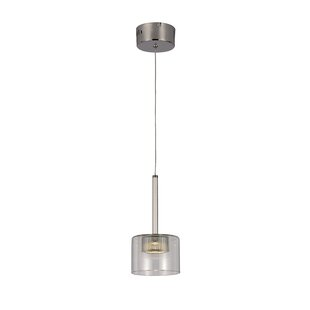 TransGlobe Lighting 1-Light Drum Pendant
