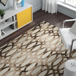 Edie Ivory/Cacao Area Rug byZipcode Design