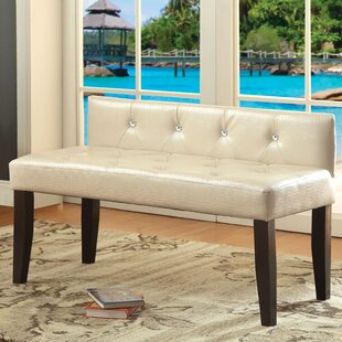 Best Coderre Upholstered Bench By Charlton Home