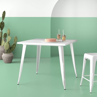 Brandt Metal Dining Table by Hashtag Home Coupon