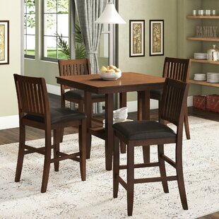 Chippewa 5 Piece Dining Set by Loon Peak #2t