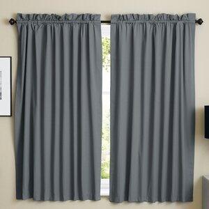 Twill Curtain Panels (Set of 2)