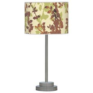 Organic Modern Leaf Stem 24 Table Lamp