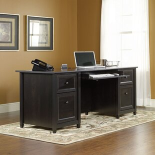 Wellesley Executive Desk by Three Posts Cool
