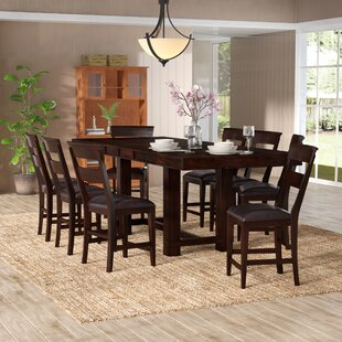 Three Posts Norden 9 Piece Counter Height Dining Set